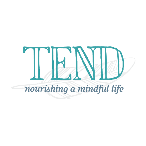 Handcrafted logo design and elegant pages for TEND Magazine