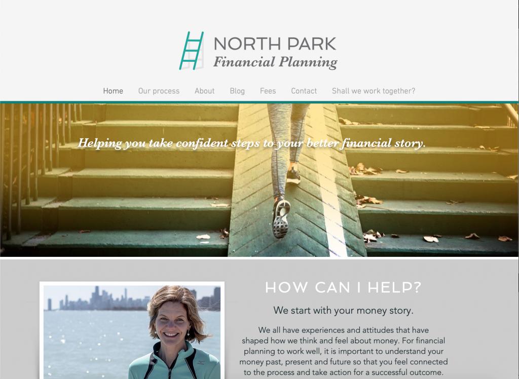 NPFP website graphic design