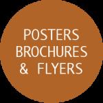 Poster, Brochure & Flyer designs by Deb Anderson
