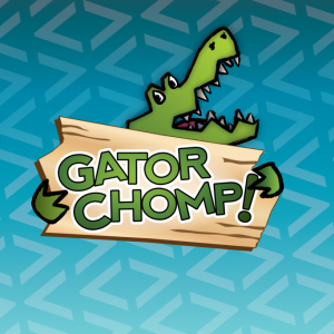Logo design for Gator Chomp iOS Math Game