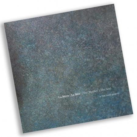 Book design for La Mere, La Mer art book for artist Tim Lowly