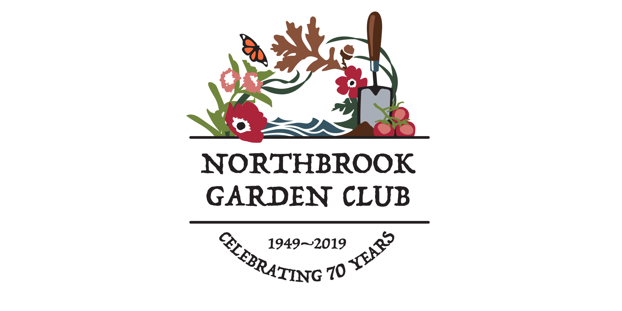 Logo design for Northbrook Garden Club