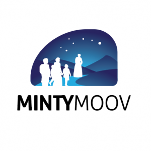 Logo design for Mintymoov, Harriet Tubman inspired app