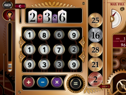 Game art for Number Rhumbus, an iOS math game