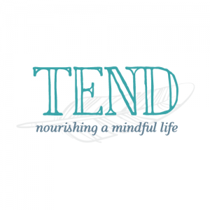 Logo design for Tend e-magazine